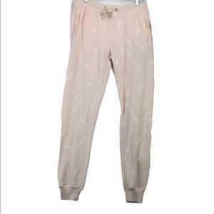 NWT Theo & Spence Brushed Knit Jogger Pajama Pants